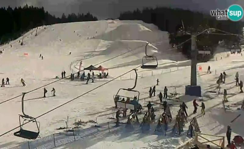 Szlovén sípálya webkamera