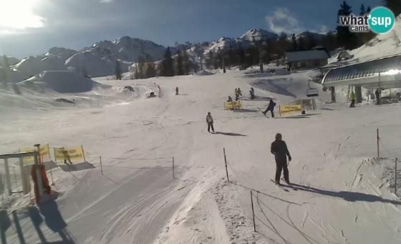 Vogel Snowpark sípálya Élő webkamera